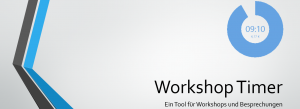 Besprechungs- und Workshop Timer