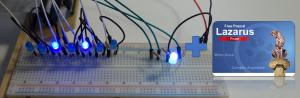 Lauflichter und LED-Steuerung mit Lazarus