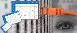 Materialflussmatrix aus ERP-Daten