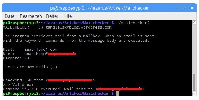 Test application mailchecker