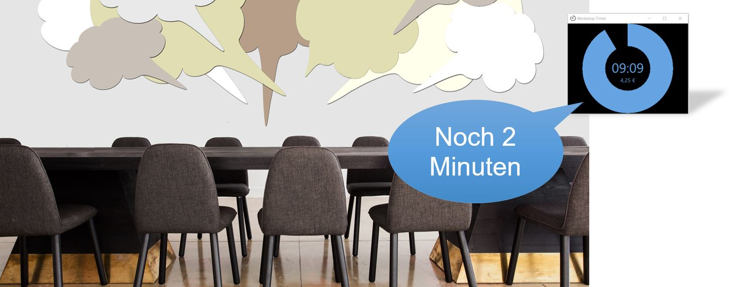 Schnelle Ideen in Workshops
