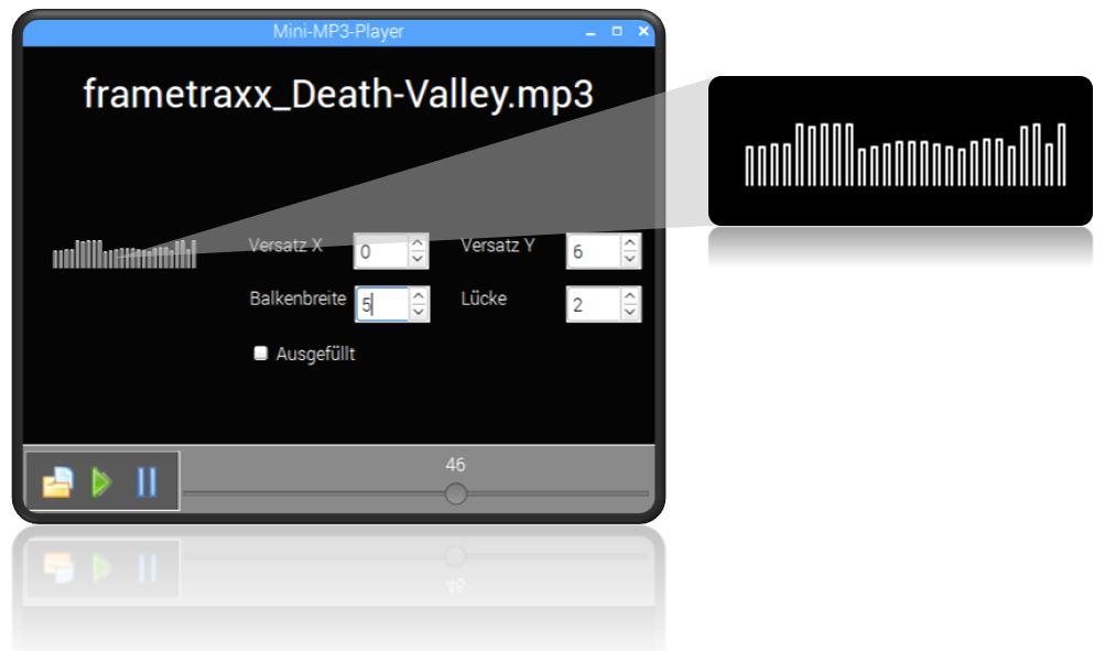 Beispiel-App erstellt mit Lazarus
