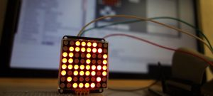 8×8 LED-Matrix with Raspberry and Lazarus