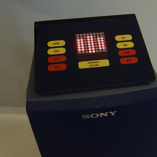 Audio Pegel-Anzeige mit 8×8 LED Matrix