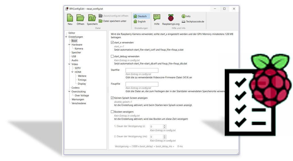 Raspberry Pi Config Editor